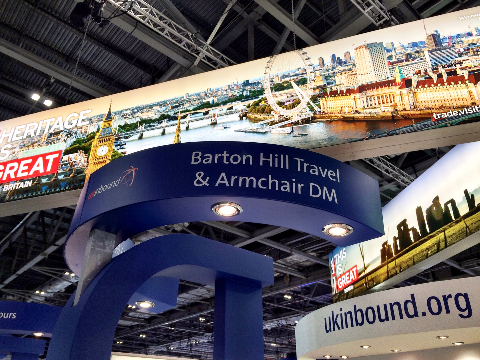 UK Inbound stand at WTM 2015