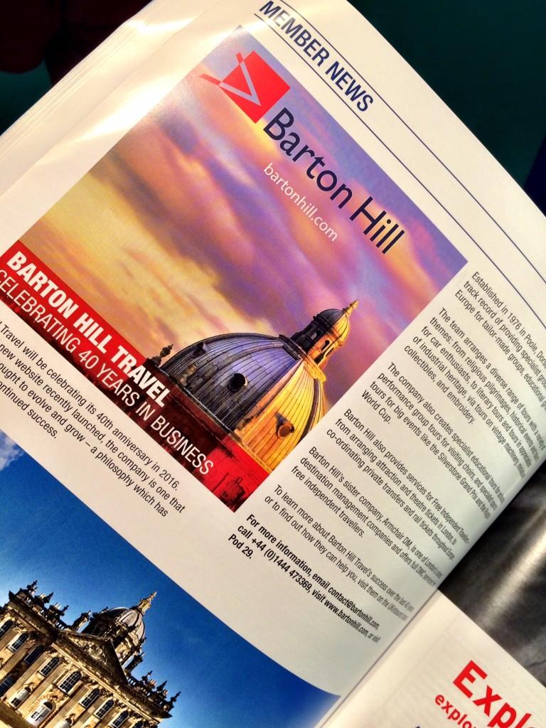 Barton Hill Travel UK Inbound News