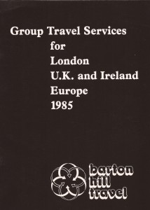 old barton hill travel brochure