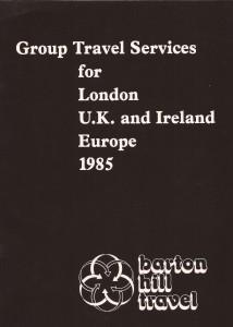 old barton hill travel brochure